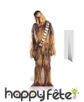 Silhouette de Chewbacca taille réelle