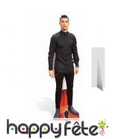 Silhouette de Christiano Ronaldo taille réelle
