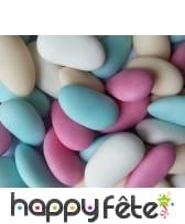 Sachet de dragées multicolore, 500g