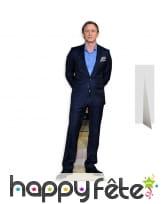 Silhouette de Daniel Craig en carton
