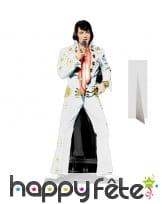 Silhouette de Elvis en costume de scène