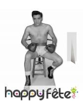 Silhouette de Elvis presley boxeur