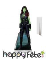 Silhouette de Gamora en carton taille réelle