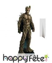 Silhouette de Groot, marvel, en carton