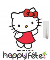 Silhouette de Hello Kitty en carton