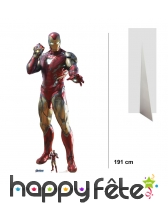 Silhouette de Iron Man taille réelle, infinity
