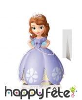 Silhouette de la princesse Sofia en carton