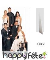 Silhouette de la série Friends, taille réelle