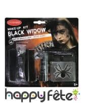 Set de maquillage araignée pour adulte