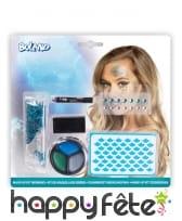Set de maquillage sirène pour adulte