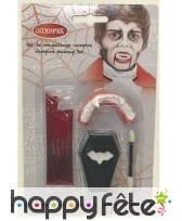 Set de maquillage vampire avec dentier, enfant, image 1
