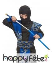 Sabre de Ninja bleu pour enfant, 60cm, image 1