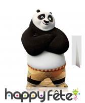Silhouette de Po taille réelle, Kung Fu Panda