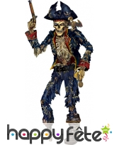 Squelette de Pirate en craton