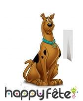 Silhouette de Scooby Doo en carton plat
