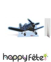 Silhouette de skipper en carton plat, Planes