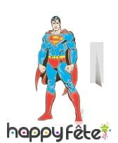 Silhouette de superman comics en carton