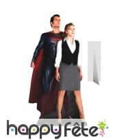 Silhouette de superman Lois et Lane, carton