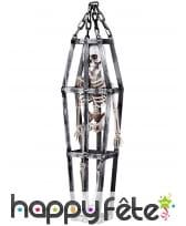 Suspension de squelette en cage, 50 cm