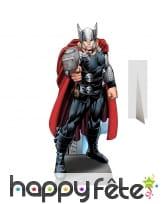 Silhouette de Thor en carton taille réelle