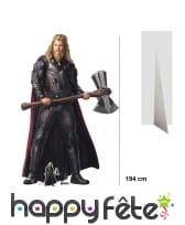 Silhouette de Thor taille réelle, Stormbeaker