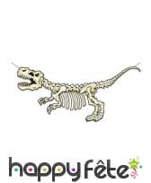 Squelette de T-rex en carton plat de 1,52 m