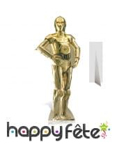 Silhouette de Z-6PO taille réelle