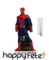 Spiderman en carton taille réelle