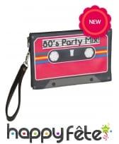 Sac en forme de cassette, pour adulte