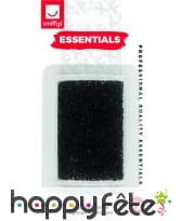 Stipple éponge noire cosmétique