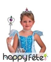 Sceptre et tiare de princesse