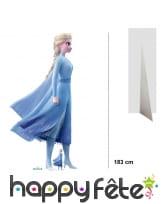 Silhouette Elsa taille réelle, Reine des neiges 2