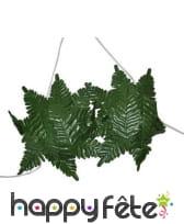 Soutien gorge en feuilles