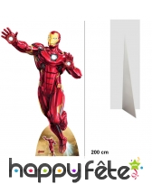Silhouette Iron Man taille réelle Avengers Endgame