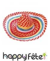 Sombrero jaune rouge vert bleu, image 1