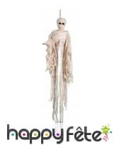 Squelette momie à suspendre