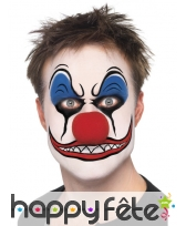 Maquillage de clown terrifiant, image 5