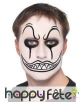 Maquillage de clown terrifiant, image 1