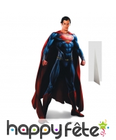 Superman man of steel en carton taille réelle