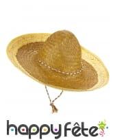 Sombrero mexicain pour adulte, image 7
