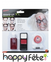 Set maquillage zombie sang, image 5