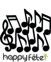 Sachet Notes de musiques