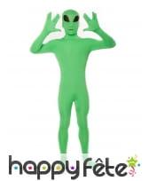 Seconde peau alien phosphorescent pour enfant, image 1