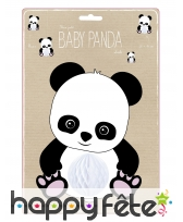 Suspension petit bébé panda de 20 cm