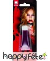 Sang rouge de vampire pour maquillage, 10ml, image 1
