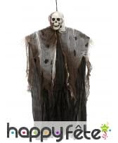 Spectre squelette à suspendre de 60cm