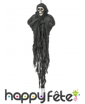 Spectre squelette noire à suspendre de 90cm, image 1