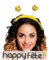 Serre-tête antennes d'abeille
