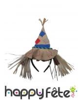 Serre-tête chapeau d'épouvantail