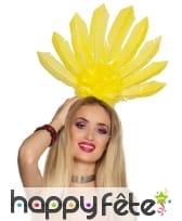 Serre tête coiffe brésilienne avec hautes plumes, image 3